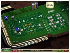 Craps no Casino Tropez