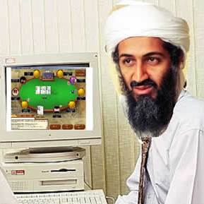 Bin Laden apanhado pelo Poker