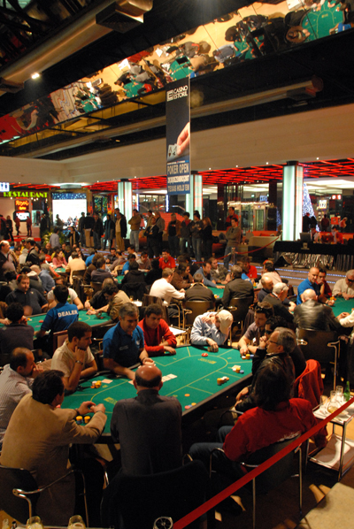Casino Estoril promove torneios de Poker