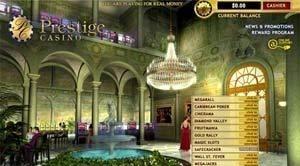 Casino Prestige está de volta