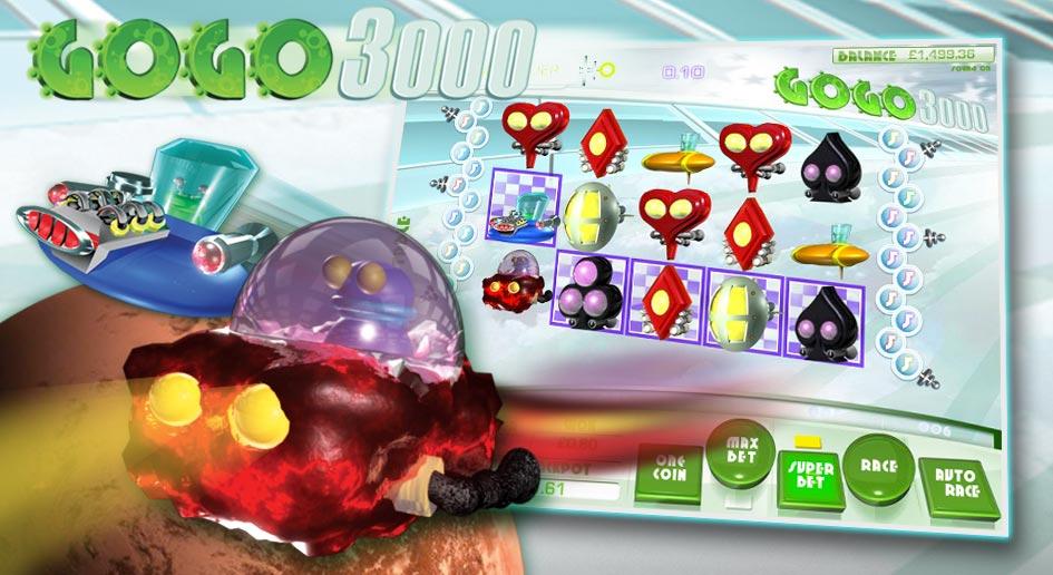 Ganhe o Jackpot do Casino Online com as GoGo 3000