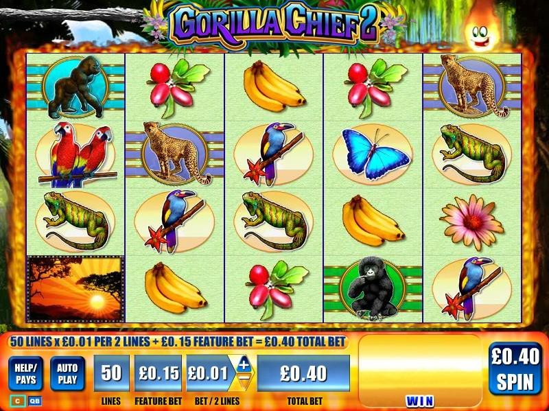 Gorilla Chief 2 – novidade nos casinos online