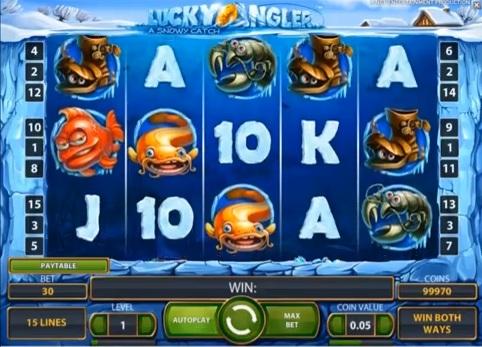 O Lucky Angler é um Novo Jogo de Slot Online