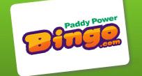 PaddyPower – oferta de um cartão de bingo