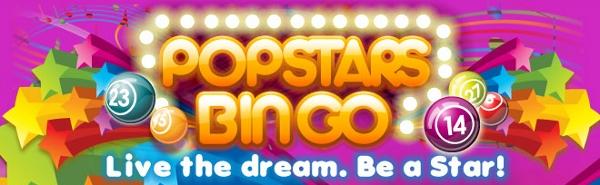 Popstars Bingo – grande novidade do bingo online