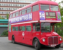 Red Bus Bingo oferece viagem a Londres