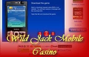 Wild Jack Mobile Casino – jogar em mobilidade